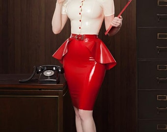 Secretary Set by Lady Lucie Latex