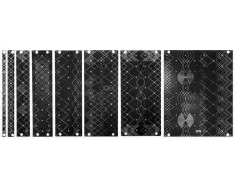 Synthrotek 3U DIY Eurorack Blank Panels