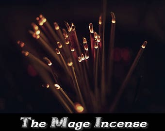The Mage Incense 100 Sticks | Aromatherapy | Stick Incense | Metaphysical Tools | Black Magic | Altar Tools | Psychic Reading | Wicca |