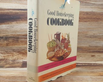 The Good Housekeeping Cookbook, 1963, vintage cookbook