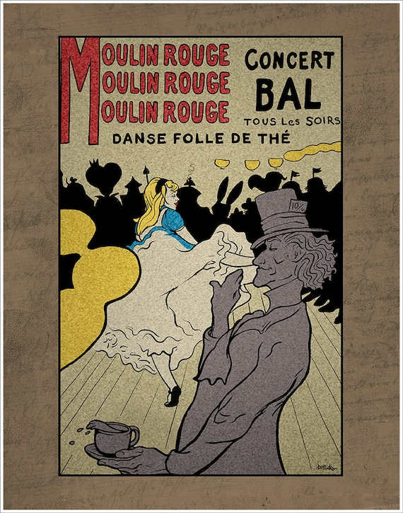 Moulin Rouge Tea Party