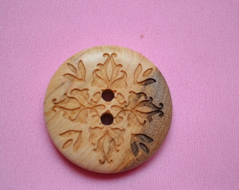 large button round 30mm