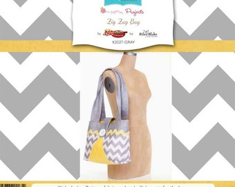 Zig Zag Bag Kit by RBD Designers for Riley Blake, PRICE REDUCED