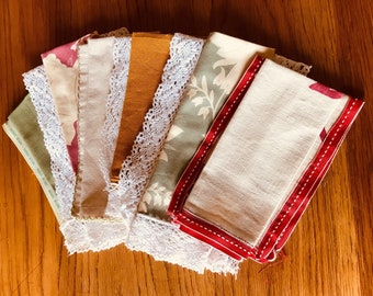 Hand Made Vintage Napkins
