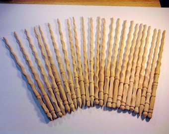 Unfinished Wands Lot of 110 Hand Carved Harry Potter Inspired