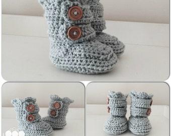 Two strap crochet slippers for Infants