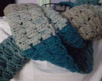 Ocean Waves Scarf/Shawl