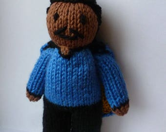 Lando Calrissian (Star Wars) knitted doll