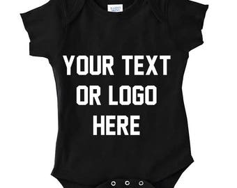 custom baby onesie, personalized onesie, baby onesies, custom onesie, baby bodysuit, personalized baby suit full color graphic