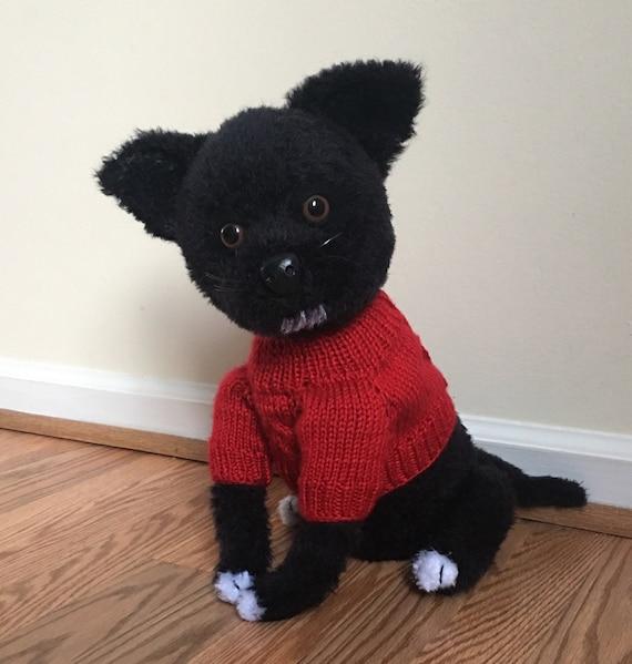 Chihuahua Hund in Pullover häkeln