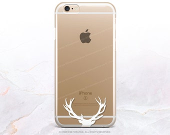 iPhone 8 Case iPhone X Case iPhone 7 Case Antlers Clear GRIP Rubber Case iPhone 7 Plus Clear Case iPhone SE Case Samsung S8 Plus Case U99