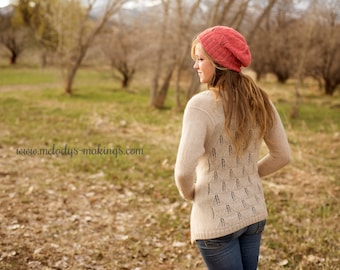 Woman's Clothing Knitting Pattern - Spring Cardigan Knitting Pattern - Woman's Cardigan Knitting Pattern - Girl's Clothing Knitting Pattern