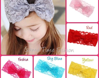 3 Lace Headbands