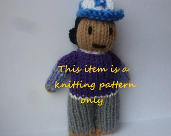 PDF knitting pattern: Clementine (The Walking Dead game)