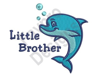 Little Brother - Machine Embroidery Design