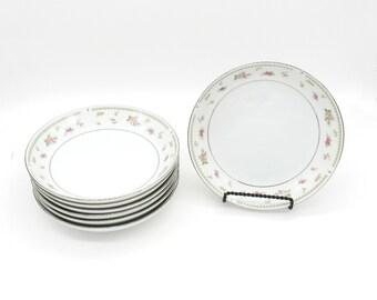 Soup Bowls, Porcelain Bowl, Vintage Soup Bowls, Vintage Bowls, Bridal Luncheon, Bridesmaid Luncheon, Dinnerware, Vintage Dinnerware