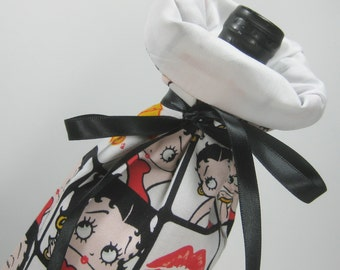 Too Cute Betty Boop, Class Wrap Wine Gift Bag