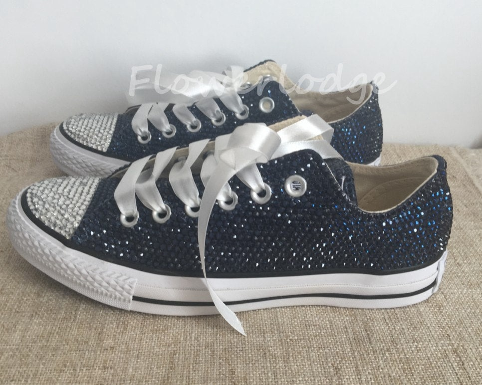 How To Make Glitter Converse Shoes