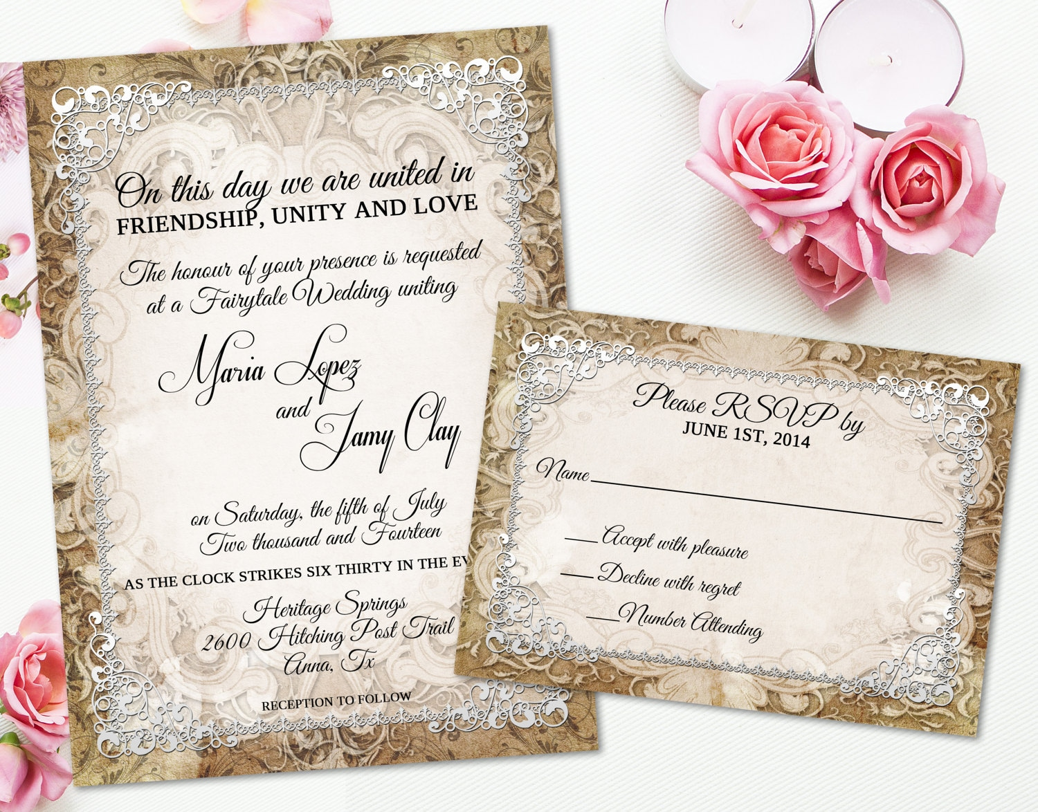 Luxury Declining Wedding Invitation Letter Example | Wedding Card ...