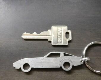 C3 Corvette Stingray 1968-1982 Chevrolet Keychains