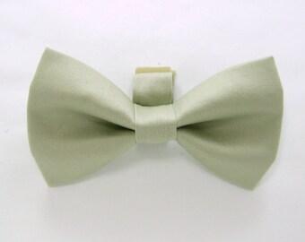 Beige Dog Bow Tie/Wedding Dog Bow/Beige Dog Bowtie