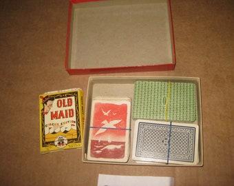 Lot of 4 Card Game Decks    [geo3687bt]