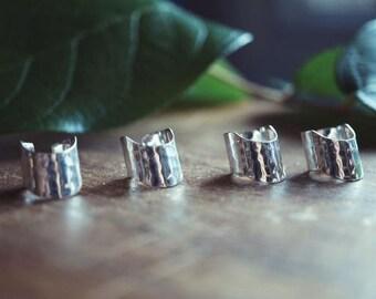 Sterling Silver Ear Cuff - Upper Ear Cuff -Ear Cuffs -Everyday Ear Cuff  - Sterling Ear Wrap