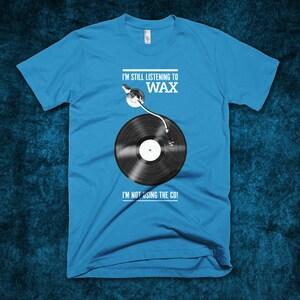 Still Listening To Wax - T-Shirt - Beastie Boys - Sure Shot - Music Lyrics - Vinyl - Records - DJ - Hip-Hop