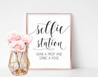 Wedding Photo Booth Sign, Photo Booth Sign Printable, Wedding Signage, Selfie Station Sign, Wedding Day Sign, Wedding Reception Signs, Props