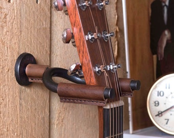 Guitar Hanger, Gifts for Musicians, Guitar Hook, Guitar Wall Mount, Music Lover Gift, Guitar Display, Acoustic Guitar Hook