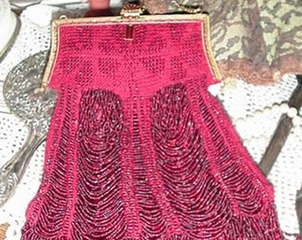 Delilah Beaded Bag Purse Pattern