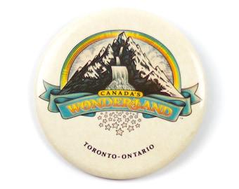 "3.5"" Canada Wonderland Toronto Ontario pin"