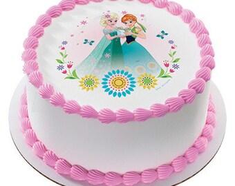 Frozen cake topper Etsy