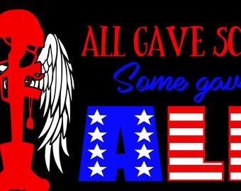 Some gave all SVG