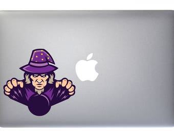 Wicked Wizard Summoning Magic Orb - Full Color Vinyl Decal For Macbook, Laptop, or other accessories