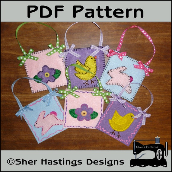 Pdf pattern for felt easter treat bags easter gift card holder pdf pattern for felt easter treat bags easter gift card holder pattern sewing pattern tutorial diy from sherspatternshop on etsy studio negle Choice Image