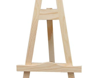 Small Wooden Easel - Display Painting Craft - Decorate Gift - 25cm High