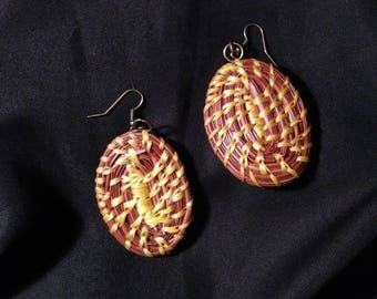 Pine Needle Earrings #003