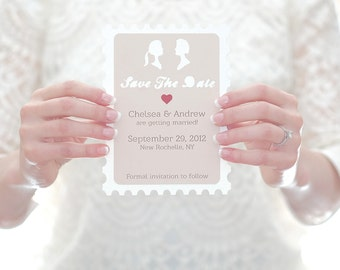 Cameo Postage Save The Date