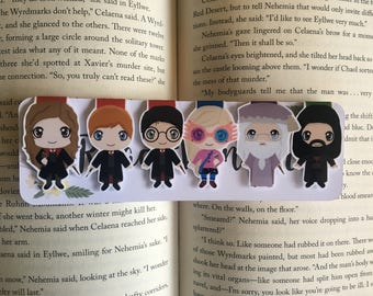 Wizard Set One Magnetic Bookmarks
