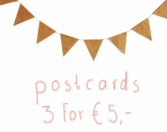 3 cards for 5 euro