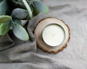 cranberry woods - hand poured soy candle