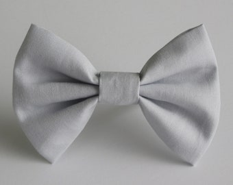 Pebble Grey Bow Tie