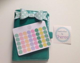 40 Pastel Tear / Dew Drop Planner Stickers