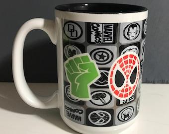 Marvel Avengers coffee mug-dishwasher safe
