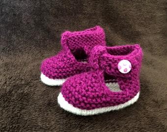 Baby booties - newborn to 3 months
