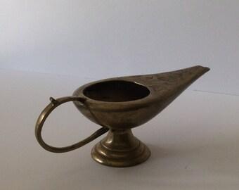 Brass Aladins Lamp