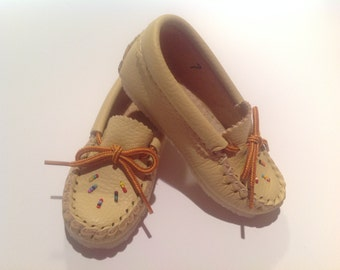 Mocassins for toddlers And children With sole