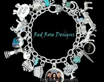Twilight Themed Charm Bracelet