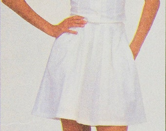 Camisole / Skirt / Culottes pattern McCall's 8024  2 Patterns Bust 31.5 and 36 Size 8 and 14 Designed by Sherry Holt